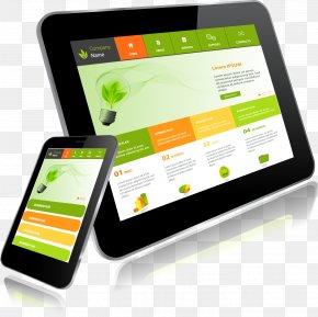 Smartphone Tablet APP Show - Responsive Web Design Smartphone Tablet Computer PNG