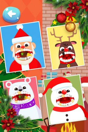 Doctor Kids Games Space Elevator Builder GamesDentist Christmas Cliparts - Dentist Christmas Doctor Game Santa Claus Christmas Dentist Office Santa PNG