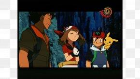 Hungama Tv Cartoon Download - Pokémon X And Y Max Ash Ketchum May PNG