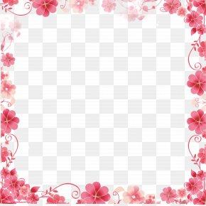 Creative Floral Border - Wallpaper PNG