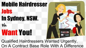 Hair - Beauty Parlour Hairdresser Hairstyle Barber PNG