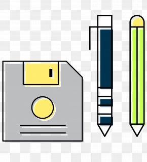 Vector Cartoon File Signature Pen - Cartoon Computer File PNG