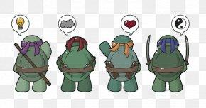 Thank You For Coming - Raphael Leonardo Michaelangelo Donatello Turtle PNG