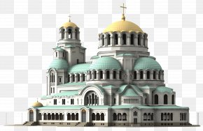 Cathedral Church - Alexander Nevsky Cathedral, Sofia Paris Architecture PNG