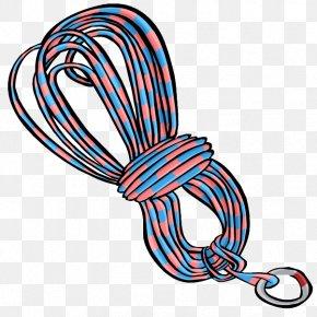 Climbing - Rope Climbing Clip Art PNG