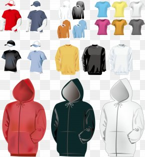 Blank Clothing Vector Material - T-shirt Clothing Euclidean Vector PNG