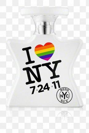 I Love New York - Bond No. 9 Perfume I Love New York Eau De Parfum Bond Street PNG