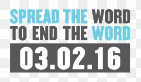 The End - Spread The Word To End The Word Retard Special Olympics Respect PNG