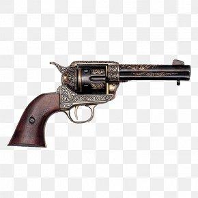 Weapon - Colt Single Action Army Firearm Pistol Flintlock Revolver PNG
