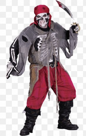 Skeleton Hands Costume - Halloween Costume Pirate Clothing Dress PNG