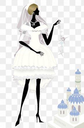 Wedding Beauty - Wedding Illustration PNG