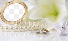 Pearls - Wedding Invitation Desktop Wallpaper High-definition Television Wallpaper PNG