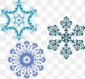 Snow Falling - Elsa Snowflake Light Vecteur PNG