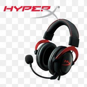 HyperX Gaming Headset - Kingston HyperX Cloud II Headset Kingston Technology PNG