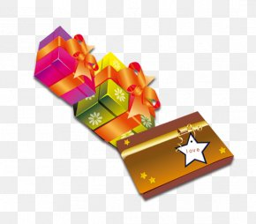 Colorful Gift Boxes - Gift Clip Art PNG