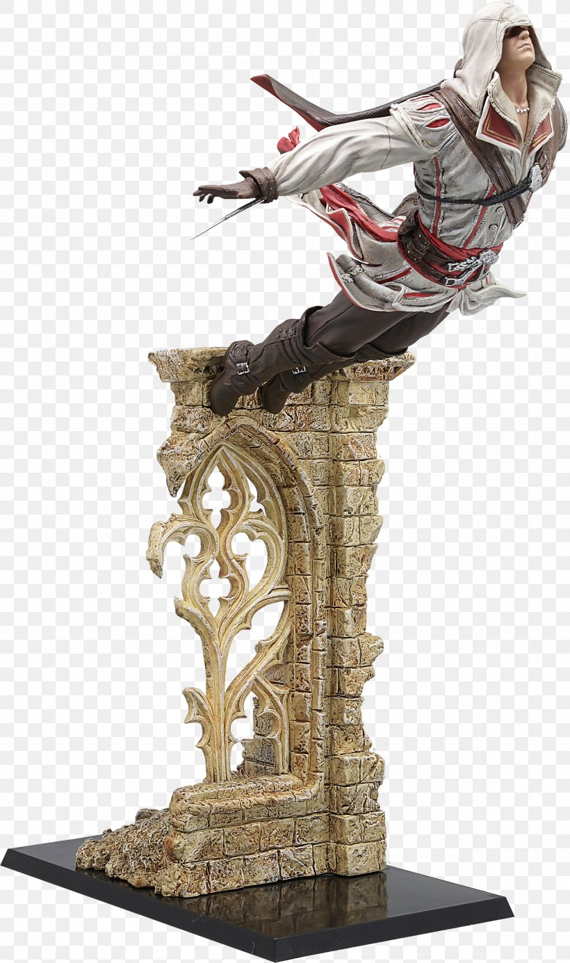 Assassin's Creed III Assassin's Creed: Origins Assassin's Creed Syndicate Ezio Auditore, PNG, 2217x3745px, Ezio Auditore, Assassins, Edward Kenway, Figurine, Sculpture Download Free