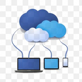 Cloud Computing - Cloud Computing Cloud Storage Internet Computer Servers Technology PNG