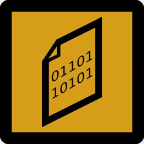 Binary Sign - Binary File Computer File Binary Number Clip Art PNG