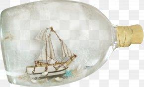 Sailing Bottle - Bottle Glass PNG
