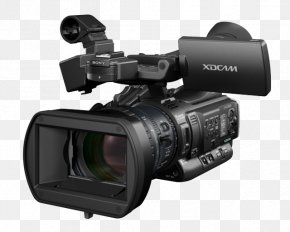 Professional Video Camera Pic - Sony PMW-EX1 XDCAM Camcorder Camera PNG