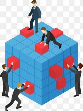 Vector Team Work - Teamwork Illustration PNG