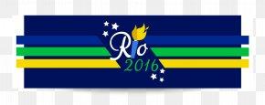 Rio 2016 Olympic Games Vector Elements - 2016 Summer Olympics Rio De Janeiro Logo PNG