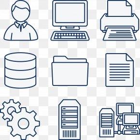 Computer Network Cliparts - Computer Network Diagram Computer Servers Clip Art PNG