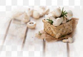 Wild Mushroom - Edible Mushroom Fungus Shiitake Poster PNG