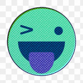 Symbol Teal - Emoticon Happy Icon Reaction Icon PNG