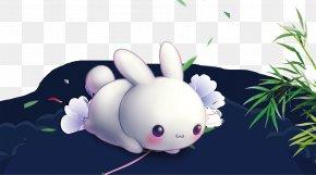 Mid Autumn Rabbit - Rabbit Mid-Autumn Festival Chinese New Year PNG