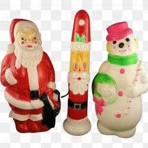 Santa Claus - Santa Claus Christmas Decoration Christmas Day Blow Molding Plastic PNG