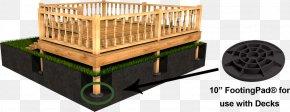 Vinyl Composition Tile - Deck Pole Building Framing Foundation Post PNG