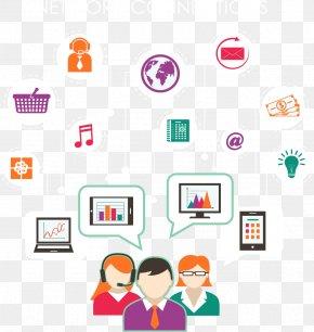 Internet Communication Work - Digital Marketing Internet Clip Art PNG