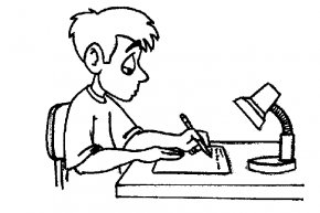 Write Cliparts - Student Homework Summer Reading Program Clip Art PNG