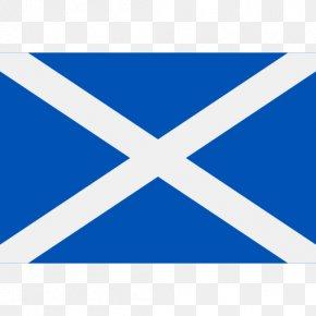 Flag - Flag Of Scotland National Flag St Andrews Saltire PNG