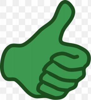 Egore - Thumb Signal Green Clip Art PNG