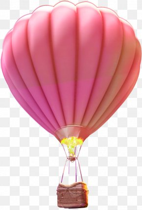 Hot Air Balloon - Hot Air Balloon Flight Purple PNG