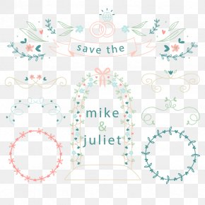 Vector Decorative Marriage - Wedding Marriage PNG