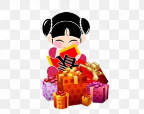 Chinese New Year Gift Doll - China Chinese New Year Clip Art PNG