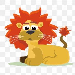 Lion - Lion Cartoon Jungle PNG
