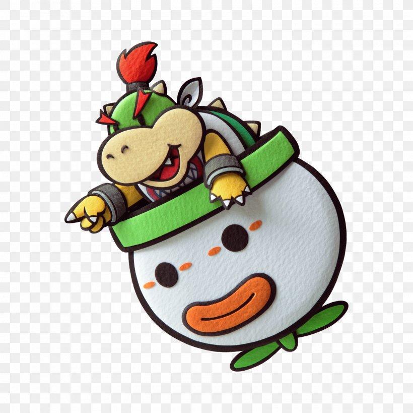 Bowser Paper Mario Sticker Star Luigi Png 1600x1600px