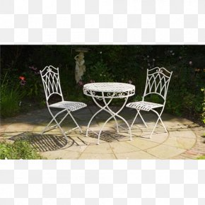 Table - Table Garden Furniture Chair Patio PNG