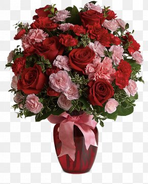 Bouquet Of Flowers - Flower Delivery Floristry Valentine's Day Flower Bouquet PNG