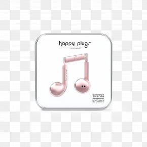 Headphones - Happy Plugs Earbud Plus Headphones Happy Plugs In-Ear Écouteur PNG