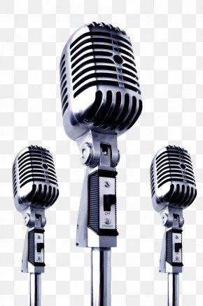 Nostalgic Microphone - Microphone Clip Art PNG
