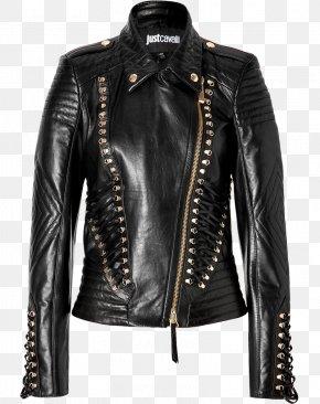 Jacket - Leather Jacket Coat Wedge PNG