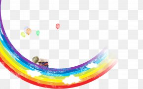 Rainbow Balloons - Child Behavior Checklist Diaper Rainbow PNG