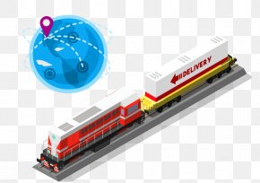 Global Express Train Express Vector - Train Rail Transport Track PNG