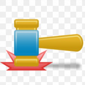 Cartoon Cute Auction Hammer - Auction Hammer Gavel Icon PNG