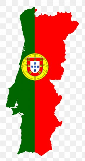 Map - Flag Of Portugal Map National Flag PNG